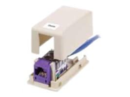 Hubbell 1-Port Surface Mount Box, Unloaded, ISB1OW, 12187280, Premise Wiring Equipment