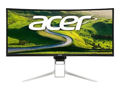 Acer 37.5 XR382CQK bmijqphuzx UW-QHD+ LED-LCD Ultrawide Curved Monitor, Black, UM.TX2AA.002, 35896943, Monitors