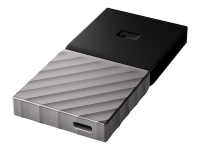 Western Digital 2TB WD My Passport USB 3.1-C Portable Solid State Drive, WDBKVX0020PSL-WESN, 37271998, Solid State Drives - External