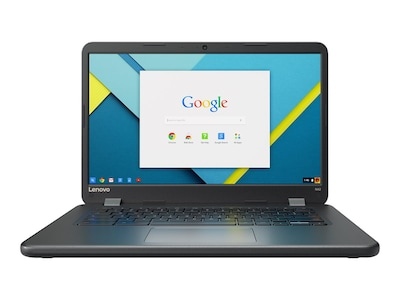Lenovo TopSeller N42 Chromebook Celeron N3060 1.6GHz 4GB 32GB ac BT WC 14 HD Chrome, 80US0002US, 32020751, Notebooks
