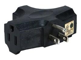 QVS 3-Outlet 3-Prong Power Outlet Splitter, PA-3P, 31196325, Power Cords