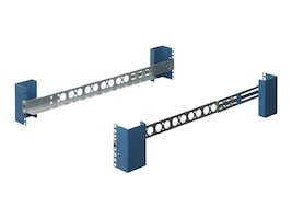 Innovation First Shallow Depth Fixed Rail Kit Mounting Depth, 1U, 1UKIT-109-20, 9790918, Rack Mount Accessories