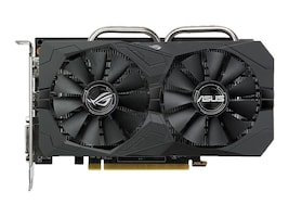 Asus ROG-STRIX-RX560-O4G-EVO-GAMING Main Image from Front