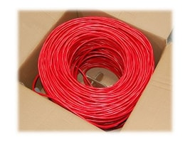 Bytecc Cat6 Patch Cable, Red, 1000ft, C6E-1000R, 14298291, Cables
