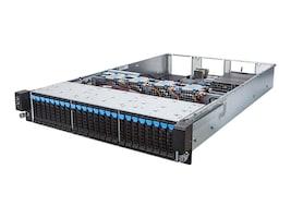 Gigabyte Tech Barebones, R280-F2O 2U RM (2x)E5-2600 v4 Family Max.128GB DDR4 24x2.5 HS Bays 2xGbE 2x800W, R280-F2O, 32161298, Barebones Systems
