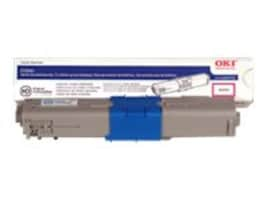 Oki Cyan High Capacity Toner Cartridge for C530dn Series Printers, 44469721, 11695127, Toner and Imaging Components - OEM