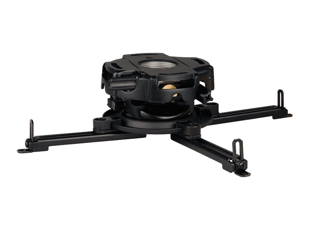 Peerless PRG Precision Projector Mount with Spider Universal Adaptor Plate for Projectors up to 50 Pounds, PRG-UNV, 7783343, Stands & Mounts - AV