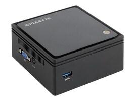 Gigabyte Tech Barebones, BRIX Ultra Compact PC Kit Celeron J1900 2.0GHz Max.8GB DDR3L 1x2.5: Bay GbE NoOS, GB-BXBT-1900, 20019649, Barebones Systems