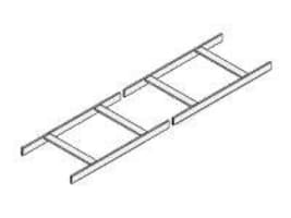 Chatsworth UL-Classified Cable Runway, 12 Wide, Gold, 11275-012, 8174347, Premise Wiring Equipment