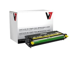 V7 310-8092 Yellow High Yield Toner Cartridge for Dell 3110 & 3115, TDY23115, 11475933, Toner and Imaging Components