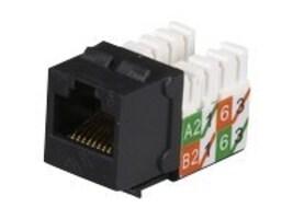 Black Box GigaTrue2 Cat6 Jack, Black, 25-Pack, FMT631-R3-25PAK, 15685401, Cable Accessories