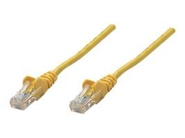 Intellinet CAT5E PVC UTP 350MHZ Patch Cable, Yellow, 14ft, 319850, 16214901, Cables