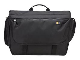"""Case Logic Bryker 14"""" Messenger Bag, Black, BRYM114BLACK, 32073095, Carrying Cases - Notebook"""