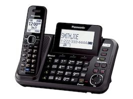Panasonic Link2Cell 2-Line Cordless Phone w  1 Handset, KX-TG9541-B, 34978779, Telephones - Consumer