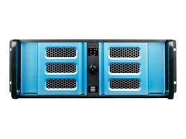 iStarUSA Chassis, D-400-6SE 4U RM 4x3.5 Bays (2xInternal) 6x5.25 Bays 1x500W PSU, Black, D-406SE-50R8PD8, 33604530, Cases - Systems/Servers