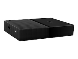 WD 2TB My Passport Ultra, Black, WDBYFT0020BBK-WESN, 32484732, Hard Drives - External