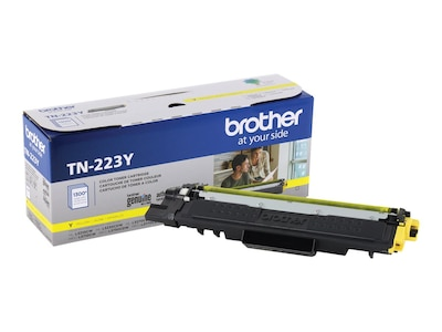 Brother Yellow Standard Yield Toner Cartridge for HL-L3210CW, HL-L3230CDW, HL-L3270CDW, HL-L3290CDW, TN223Y, 35995845, Toner and Imaging Components - OEM