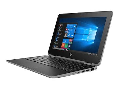 HP ProBook x360 11 G4 Core i5-8200UY 1.2GHz 8GB 256GB SSD ac BT 2xWC 11.6 HD MT W10P64, 6SM43UT#ABA, 36864564, Notebooks - Convertible