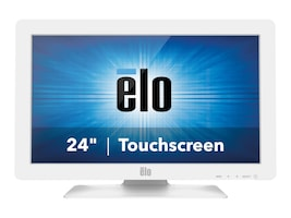 ELO Touch Solutions 2401LM 24 LCD VGA DVI Medical Intellitouch USB RS-232, Black Gray, E000140, 16376521, POS/Kiosk Systems