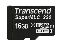 Transcend Information TS16GUSD220I Main Image from Front