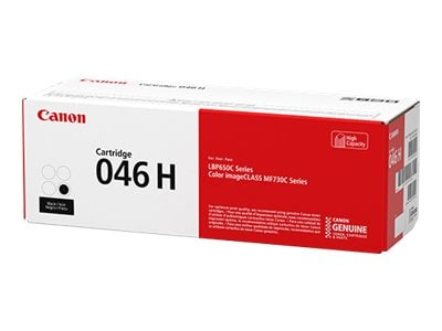 Canon Black 046 High Capacity Full Yield Toner Cartridge, 1254C001, 33923961, Toner and Imaging Components - OEM