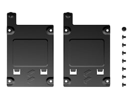 Fractal Design Solid State Drive Brackets - Black (2-pack), FD-A-BRKT-001, 38406081, Drive Mounting Hardware