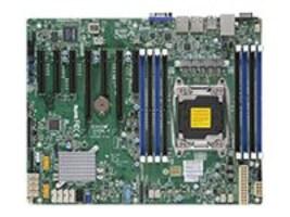 Supermicro Motherboard, X10SRL-F ATX C612 E5-2600 v3 Family Max.512GB DDR4 10xSATA 7xPCIe 2xGbE, MBD-X10SRL-F-O, 18223421, Motherboards