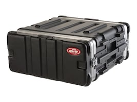 Samsonite 19 Standard Rack Case, 4U, 19 x 15 3 4 x 7, 1SKB19-4U, 5747390, Carrying Cases - Other