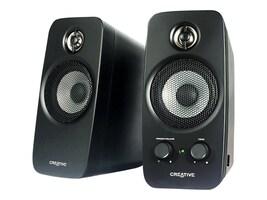 Creative Labs Inspire T10 Speakers, Black, 51MF1601AA000, 8292757, Speakers - Audio