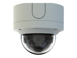 Pelco 12MP 180-degree Panoramic Surface Indoor Vandalproof Network Camera with SureVision 2.0, White, IMM12018-1S, 37681444, Cameras - Security