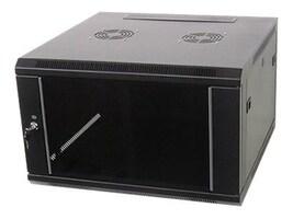 iStarUSA 6U x 600mm Depth Wallmount, WM660B, 33112691, Rack Mount Accessories