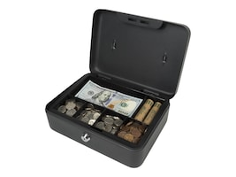 Royal Sovereign Full-Size Cash Box, 1-Bill 5-Coin Removable Tray, Security Locked, RSCB-200, 34603387, Cash Drawers