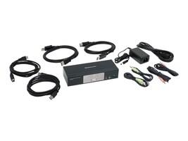 IOGEAR 2-Port DisplayPort 1.2 KVMP Switch w  USB 3.1 GEN1 Hub & Audio TAA, GCS1932, 33630981, KVM Switches