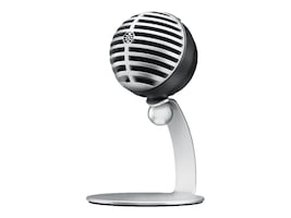 Shure SHURE MV5 CONDENSER MIC GRAY   ACCSW  STAND USB LIGHTNING CBL 3.5MM, MV5/A-LTG, 38328052, Microphones & Accessories