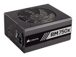 Corsair RM750x 750W 80 PLUS Gold Certified Fully Modular Power Supply Unit, CP-9020092-NA, 31631147, Power Supply Units (internal)