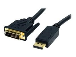 StarTech.com DisplayPort to DVI-D Cable (M-M), 6ft, DP2DVI2MM6, 11737251, Cables