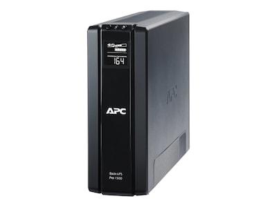 APC Power-Saving Back-UPS Pro 1500VA 865W 5-15P Input, BR1500G, 11682182, Battery Backup/UPS