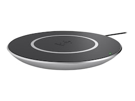 Belkin Boost Up Wireless Charging Pad for Qi Enabled Samsung Smartphones, Silver, F7U014DQSLV, 35185762, Battery Chargers