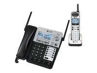 AT&T SynJ 4-Line Corded Cordless Expandable Phone, SB67138, 13032600, Telephones - Consumer