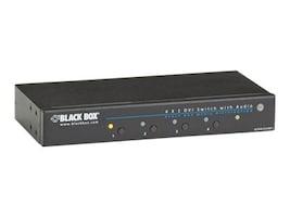 Black Box AVSW-DVI4X1 Main Image from Left-angle