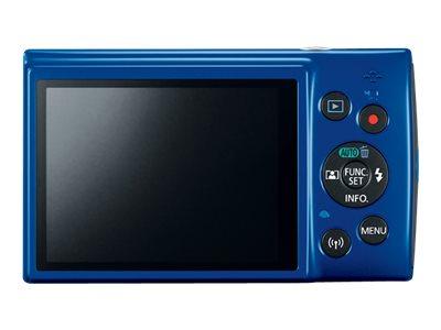 Canon PowerShot ELPH 190 Digital Camera Blue 1090C001 10X Optical Zoom 32GB Kit