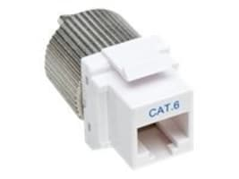 Manhattan Cat6 TwistOn Keystone Jack Tool-less, White, 167062, 31010691, Cable Accessories