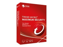 Trend Micro MAXIMUM SECURITY 2019 5U RETAILCROMBOX NORMAL 1+U, TINN0316, 36454469, Software - Network Management