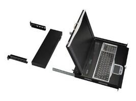 Black Box 1U x 19 LCD Tray, VGA, 16-Port CATX, KVT419A-16CATX-4IP, 33001464, KVM Displays & Accessories