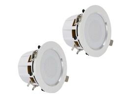 Pyle 3.5 Ceiling Wall 2-Way Aluminum Frame Speaker Pair, PDIC35, 33114186, Speakers - Audio