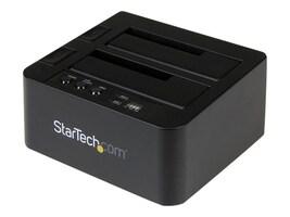 StarTech.com USB 3.1 (10Gbps) Duplicator Dock for 2.5 & 3.5 SATA Solid State Drives Hard Drives, SDOCK2U313R, 31583624, Hard Drive Duplicators