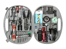 Rosewill 146 Piece Network PC Service Kit Tools w Blowing Case, RTK-146, 15766092, Network Tools & Toolkits