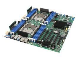 Intel Motherboard, S2600STBR, SINGLE, S2600STBR, 36893381, Motherboards
