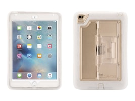 Griffin Survivor Slim Military Duty Anti-Shock Case w  Stand for iPad mini 4, Clear, GB41368, 30781469, Carrying Cases - Tablets & eReaders