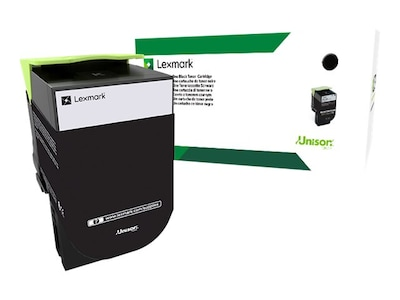 Lexmark 801HK Black High Yield Return Program Toner Cartridge, 80C1HK0, 14909514, Toner and Imaging Components